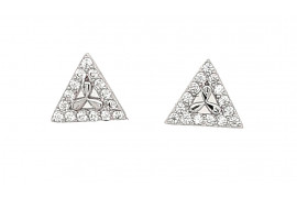 Kolczyki srebrne CRT 1124