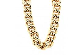 Komplet złoty (naszyjnik + bransoleta) CRT 5218